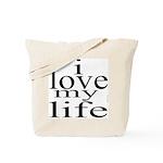 #7004. i love my life Tote Bag