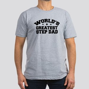 World's Greatest Step Dad Men's Fitted T-Shirt (da