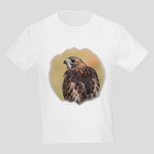 Red Tail Hawk Kids T-Shirt