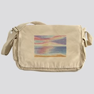 Ocean Sunset Messenger Bag