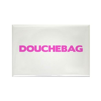 Douchebag Rectangle Magnet (100 pack)