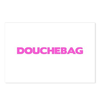 Douchebag Postcards (Package of 8)