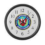 USS Mitscher (DL 2) Large Wall Clock