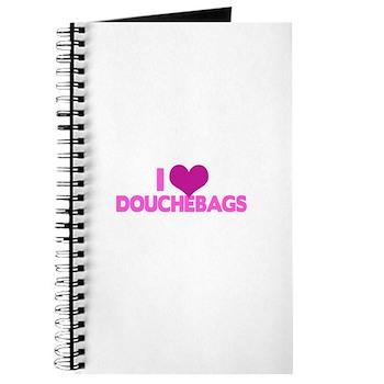I Heart Douchebags Journal
