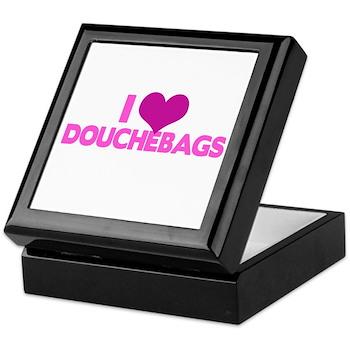 I Heart Douchebags Keepsake Box