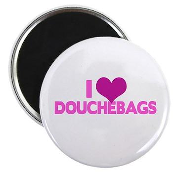 I Heart Douchebags Magnet