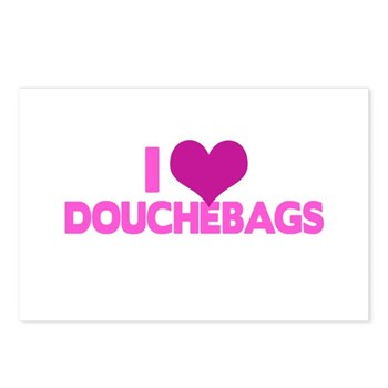 I Heart Douchebags Postcards (Package of 8)