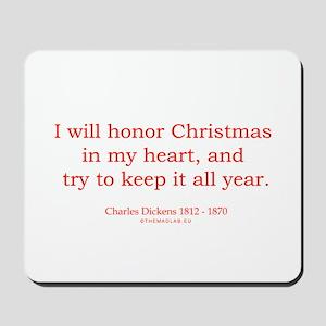 Charles Dickens 2 Mousepad