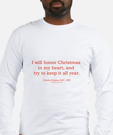 Charles Dickens 2 Long Sleeve T-Shirt