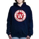 Women's Hooded Sweatshirt - Logo On Front