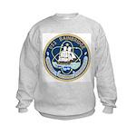 USS Bainbridge (DLGN 25) Kids Sweatshirt