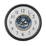 USS Bainbridge (DLGN 25) Large Wall Clock