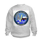 USS Mount Whitney (LCC 20) Kids Sweatshirt