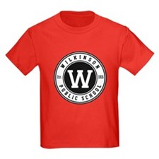 Kids Red T-Shirt - Front Logo