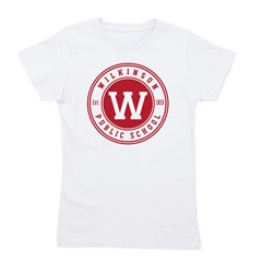 Girl's Tee - Large Logo On Front T-Shirt