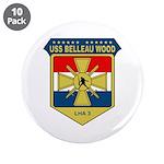 "USS Belleau Wood (LHA 3) 3.5"" Button (10 pack)"