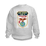 USS Essex (LHD 2) Kids Sweatshirt