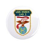"""USS Essex (LHD 2) 3.5"""" Button"""