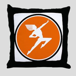 Hiawatha Milwaukee Road Throw Pillow
