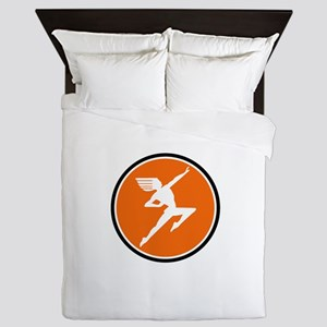 Hiawatha Milwaukee Road Queen Duvet