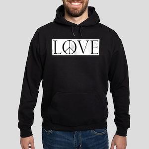 Love Peace Sign Sweatshirt