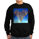 DEC 10TH DAY#344. HEART ? Sweatshirt (dark)