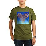 DEC 10TH DAY#344. HEART ? Organic Men's T-Shirt (d