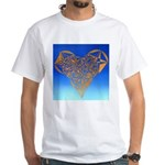 DEC 10TH DAY#344. HEART ? White T-Shirt