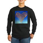 DEC 10TH DAY#344. HEART ? Long Sleeve Dark T-Shirt