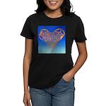 DEC 10TH DAY#344. HEART ? Women's Dark T-Shirt