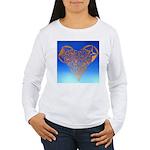 DEC 10TH DAY#344. HEART ? Women's Long Sleeve T-Sh