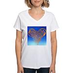 DEC 10TH DAY#344. HEART ? Women's V-Neck T-Shirt