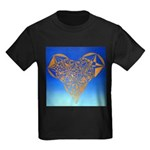 DEC 10TH DAY#344. HEART ? Kids Dark T-Shirt