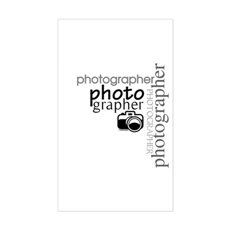 Photographer Rectangle Sticker