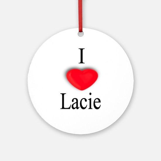 Lacie Ornament (Round)