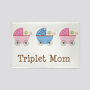 Triplet Mom Baby Buggies GGB Rectangle Magnet