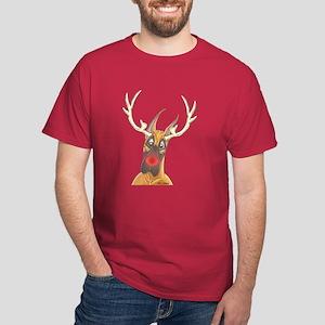 Danedeer CF Rednose Dark T-Shirt