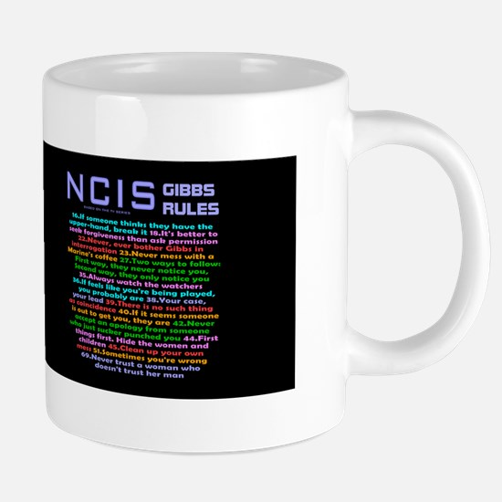 NCIS Gibbs Tumbler 20 oz Ceramic Mega Mug