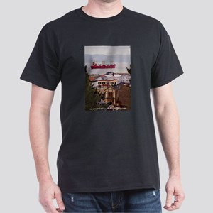 Kitchen View Image Black T-Shirt