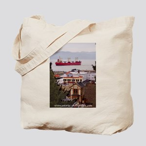 Kitchen View Image Tote Bag