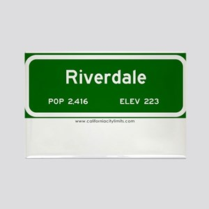 Riverdale Rectangle Magnet
