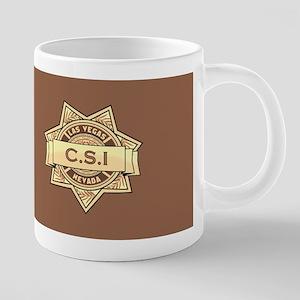CSI Las Vegas 20 oz Ceramic Mega Mug