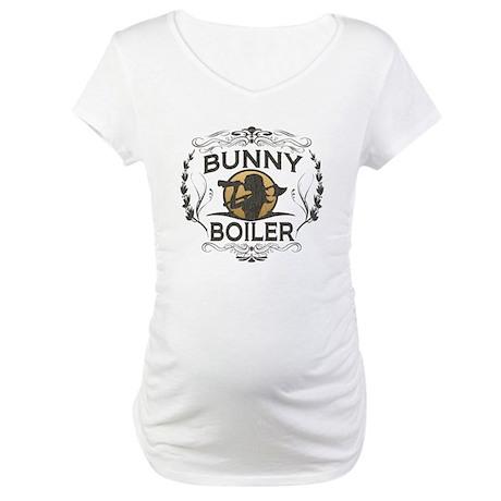 Vintage Bunny Boiler Maternity T-Shirt