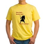 Honor is Forever Yellow T-Shirt