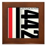 Oldsmobile 442 Framed Tile