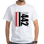 Oldsmobile 442 White T-Shirt