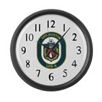 USS Austin (LPD 4) Large Wall Clock