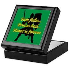 Honor is Forever Keepsake Box