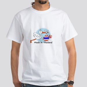 Stork Baby Thailand White T-Shirt