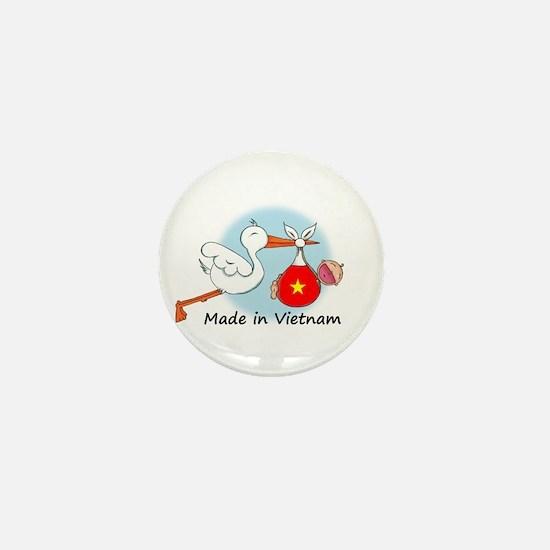 Stork Baby Vietnam Mini Button
